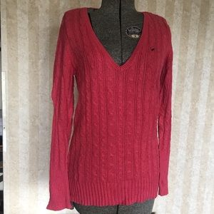 American Eagle Coral Sweater.